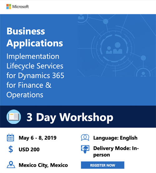 Business Applications Workshop Mexico